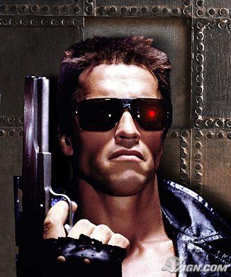Terminator 1 poster